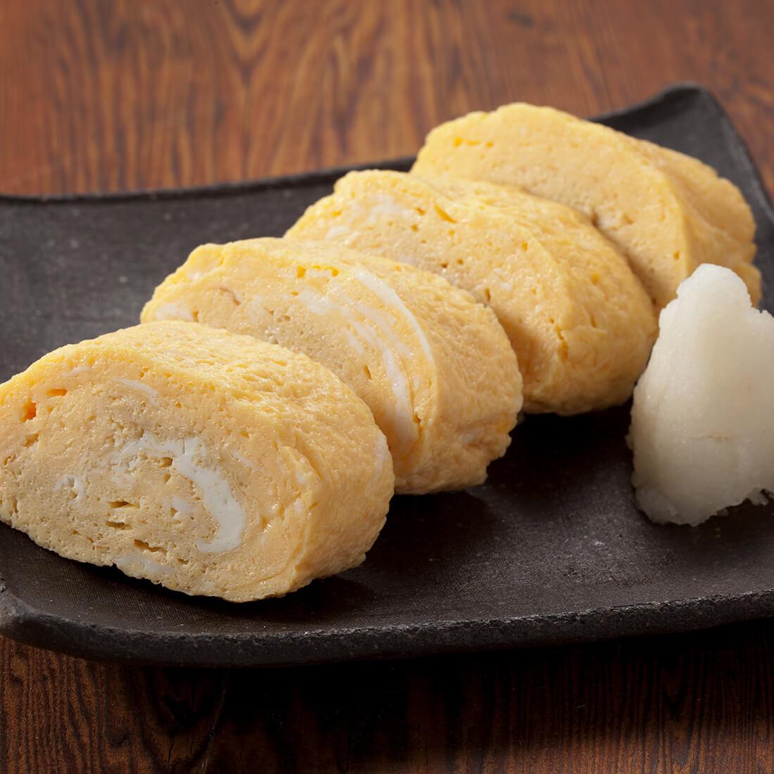 Dashimaki<br />(Japanese egg omelet)