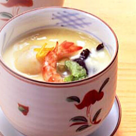 Japanese Steamed Egg Custard<br />(Chawan mushi)