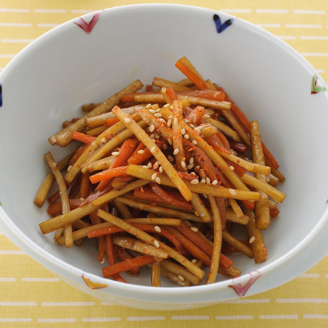 Kimpira<br />(soy flavored burdock)
