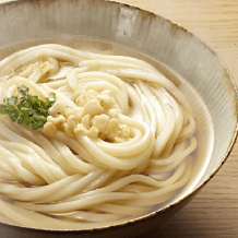 Udon Noodles in hot broth