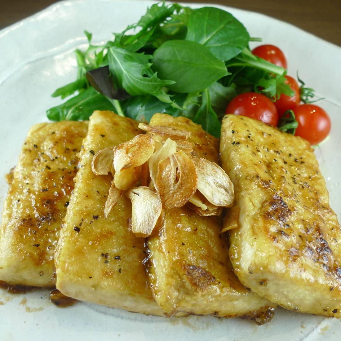 Tofu steaks