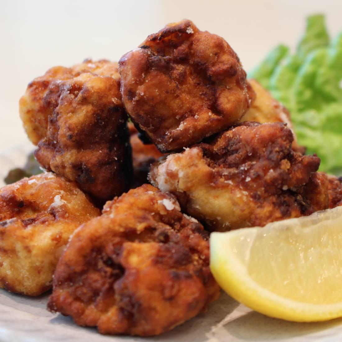 Deep-fried Tofu, <br/>Karaage style
